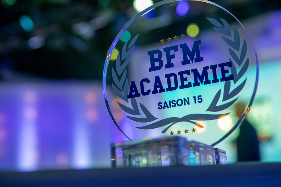 reportage photo remise prix - BFM Académie - Finale 2020