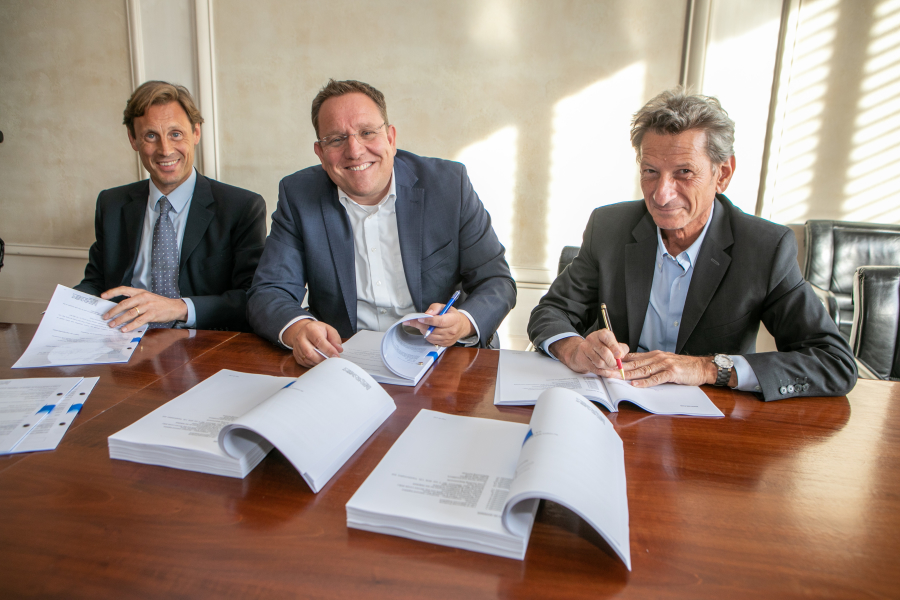 Signature Contrat STEF / BURGER KING