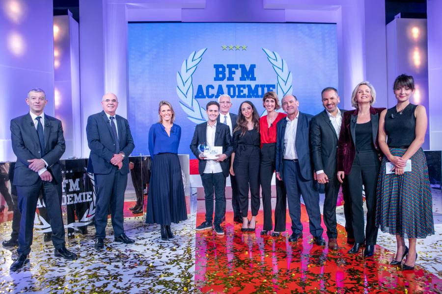 reportage photo remise de prix - BFM Académie - Finale 2020