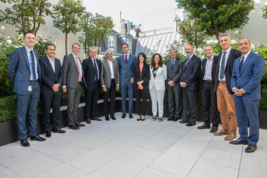 Reportage photo corporate - Signature contrat partenariat CEA - SCHLUMBERGER